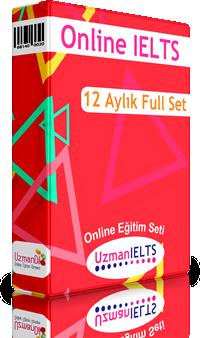 IELTS 12 Aylık Full Hazırlık Seti