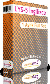 LYS-5 İngilizce 1 Aylık Ful Set