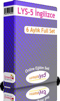 LYS-5 İngilizce  6 Aylık Ful Set + 3 Ay Hediye