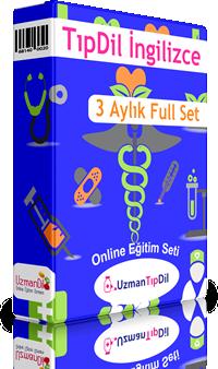 TıpDil İngilizce 3 Aylık Full Set + 2 Ay Hediye + 5 Aylık MyKelime.com Hediye