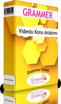TOEFL IBT Grammer Çalışmaları