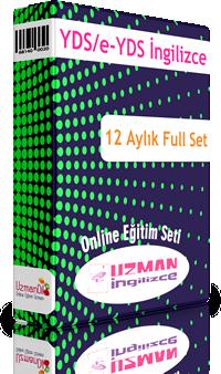 YDS / e-YDS İngilizce 12 Aylık Ful Set