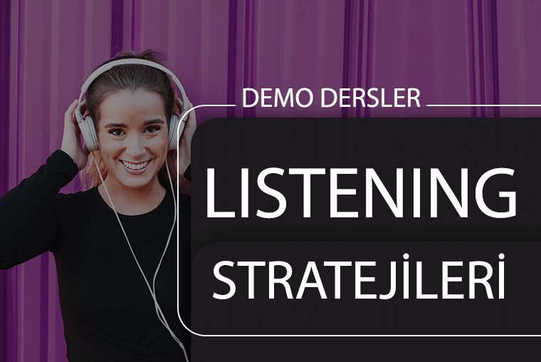 Listening Stratejileri