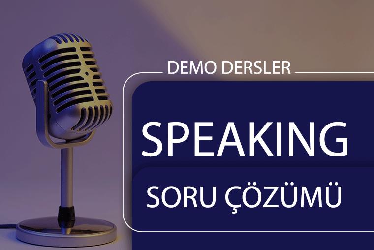 Speaking Çalışmaları
