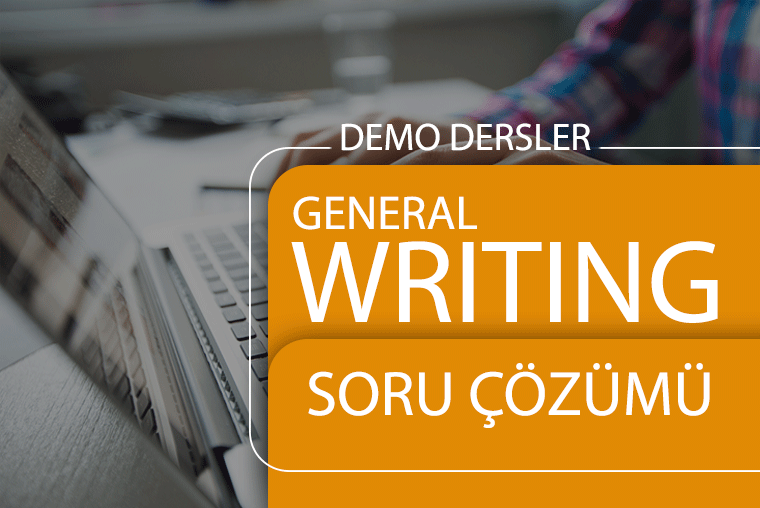 Writing General Çalışma