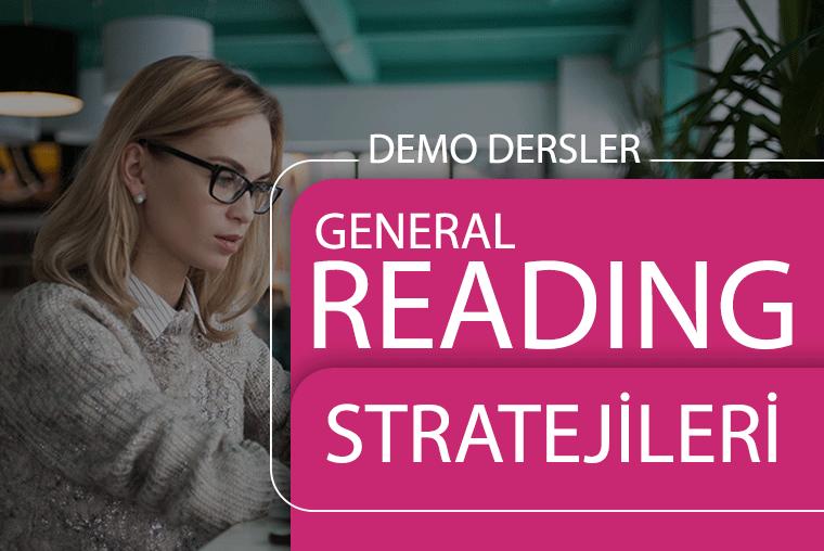 Reading General Strateji