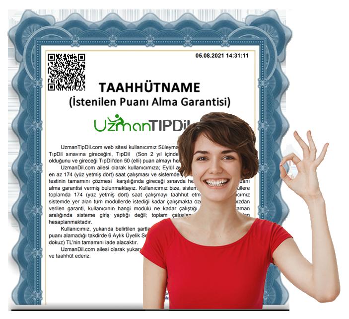 UzmanTipDil.com Garanti