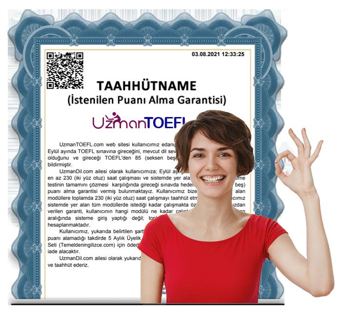UzmanTOEFL.com Garanti
